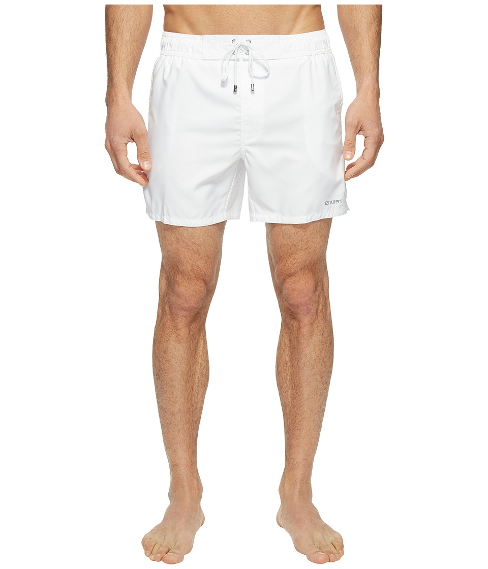 2(X)IST - Hampton (White) Men's Swimwear