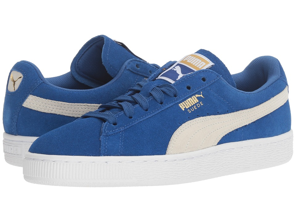 PUMA - Suede Classic (True Blue/Puma White) Women's Shoes