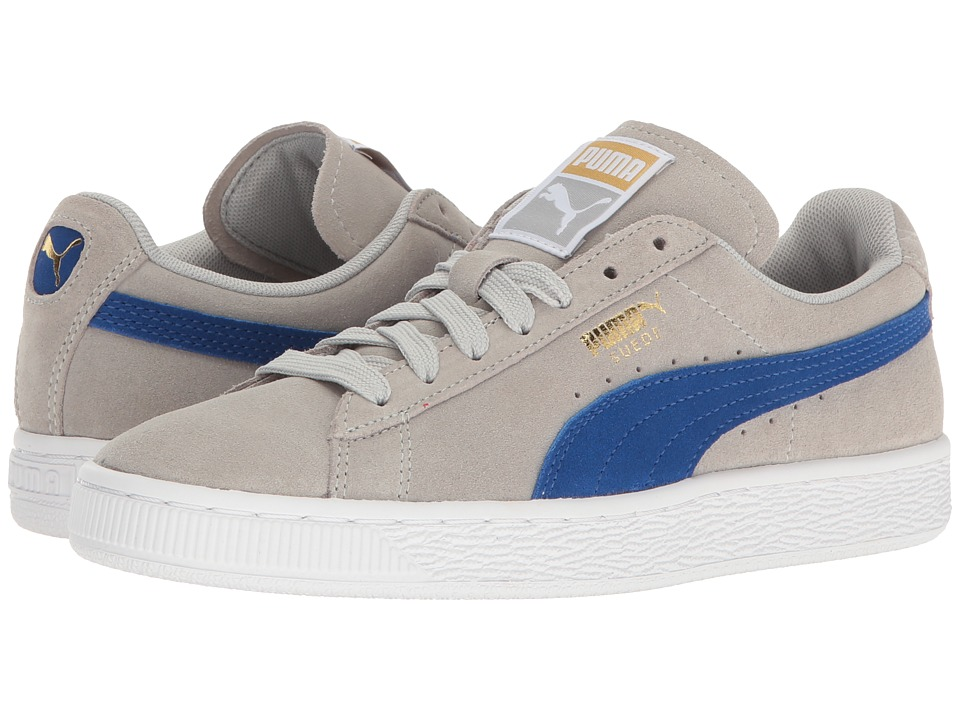 PUMA - Suede Classic (Gray Violet/True Blue) Women's Shoes