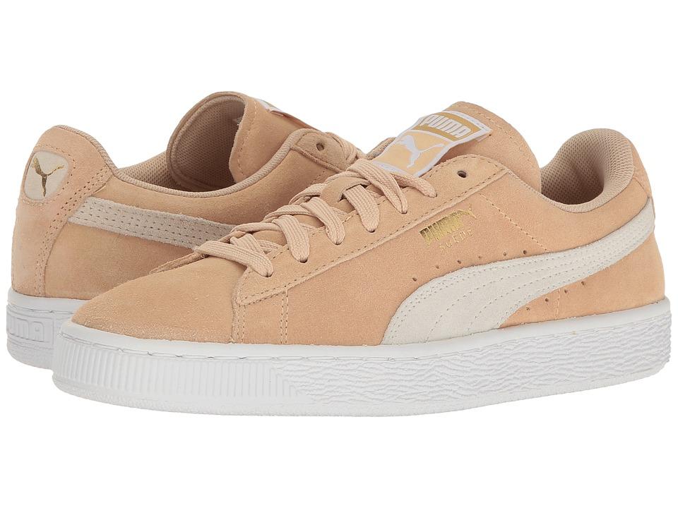 PUMA - Suede Classic (Natural Vachetta/Whisper White) Women's Shoes
