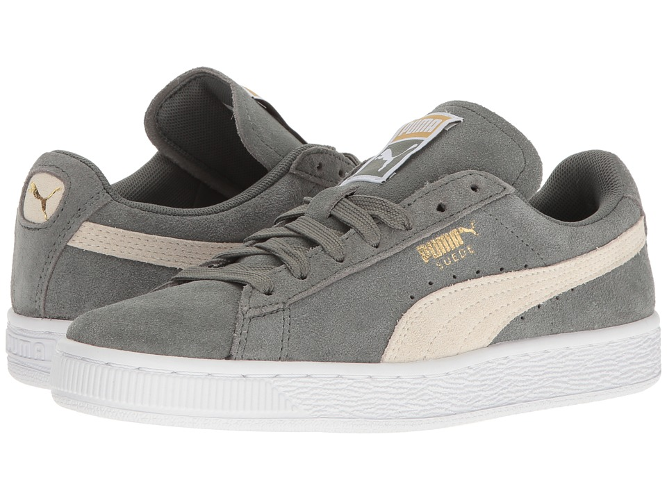 PUMA - Suede Classic (Agave Green/Whisper White) Women's Shoes