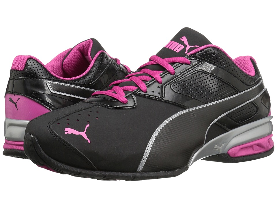 PUMA - Tazon 6 Wide FM (Puma Black/Puma Silver/Beetroot Purple) Women's Shoes