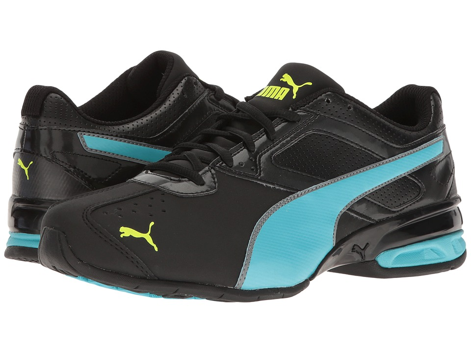PUMA - Tazon 6 FM (Puma Black/Blue Atoll/Safety Yellow) Women's Shoes