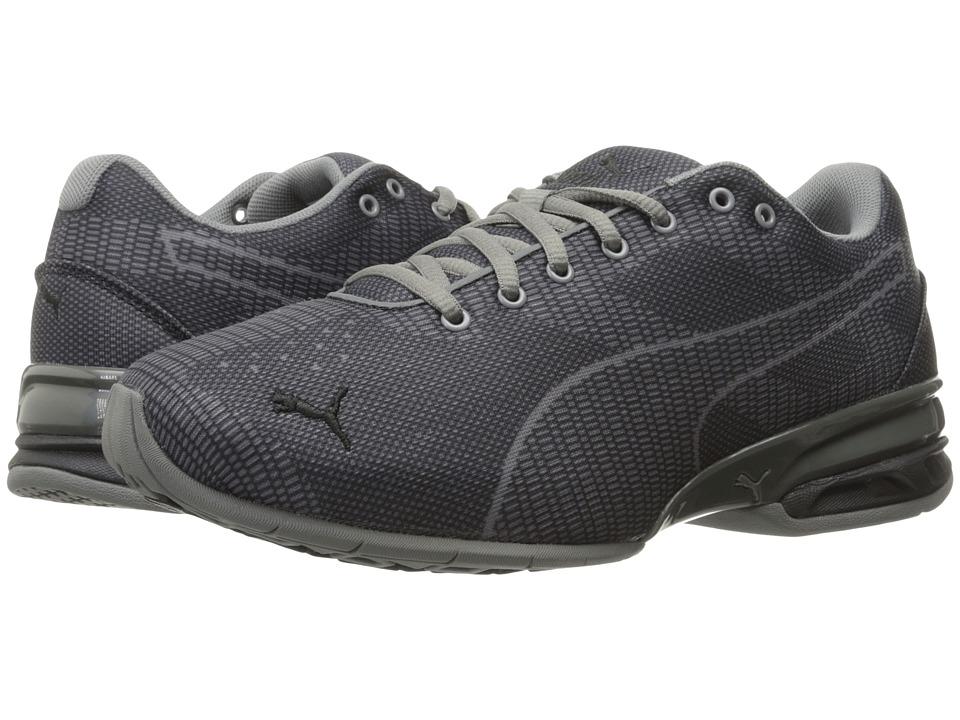 PUMA - Tazon 6 Wov Wide (Quiet Shade/Puma Black) Men's Shoes