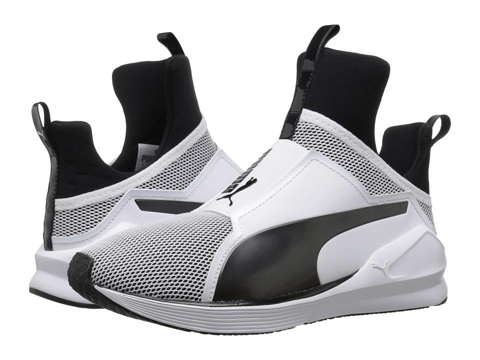 PUMA - Fierce Core (Puma White/Puma Black) Women's Shoes