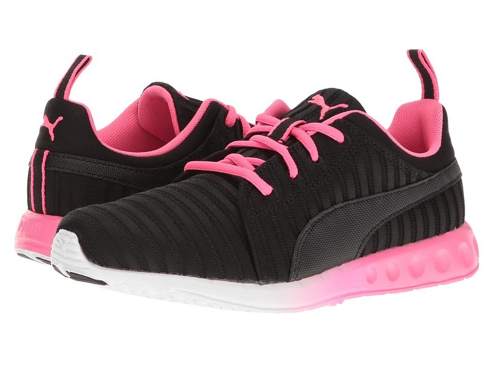 PUMA - Carson Linear (Puma Black/Knockout Pink) Women's Shoes