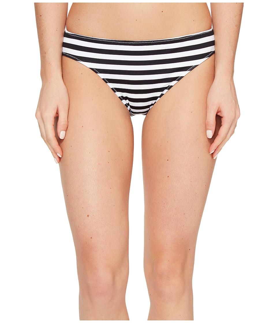 Tommy Bahama Channel Surfing Reversible Hipster Bikini Bottom (Black) Women
