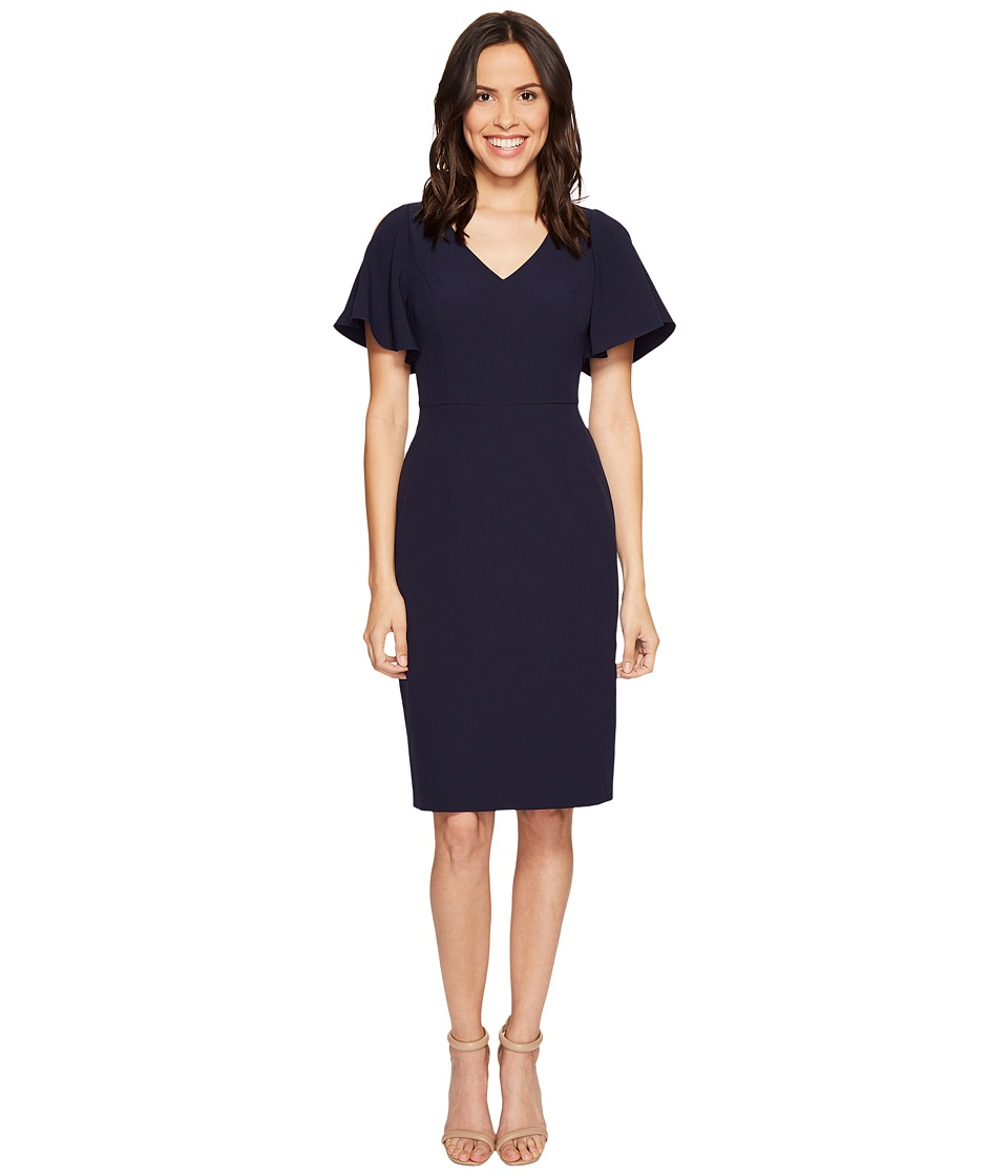 Adrianna Papell Jetset Stretch Dress (Deep Sea) Women