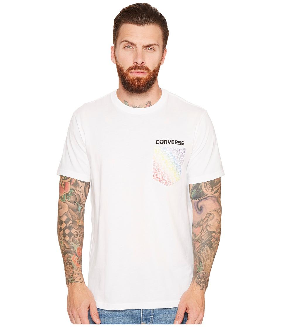 Converse Pride Star Pocket Tee (White) Men