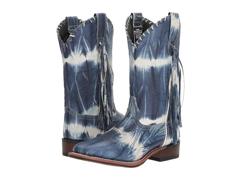 Laredo - 1970 (Blue/White Tie-Dye) Cowboy Boots