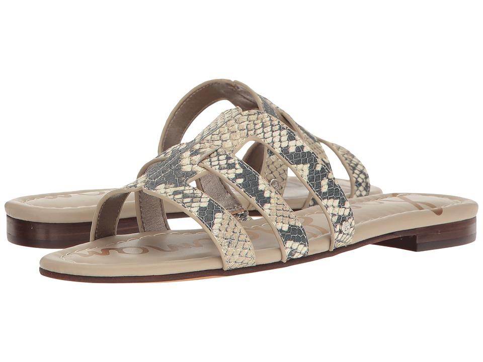 Sam Edelman - Berit (Roccia Baja Snake Print Leather) Women's 1-2 inch heel Shoes