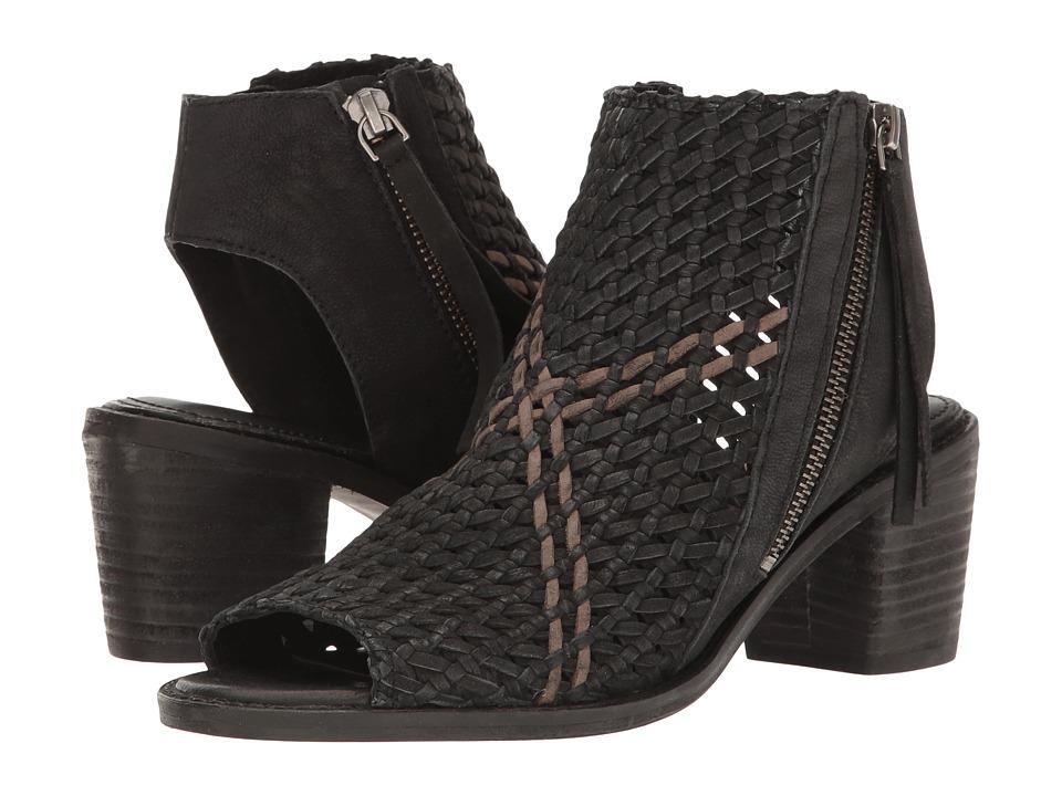 Sam Edelman - Cooper (Black Leather) Women's 1-2 inch heel Shoes
