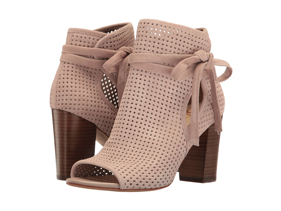 Sam Edelman - Ellery (Taupe Rose Kid Suede Leather) Women's 1-2 inch heel Shoes