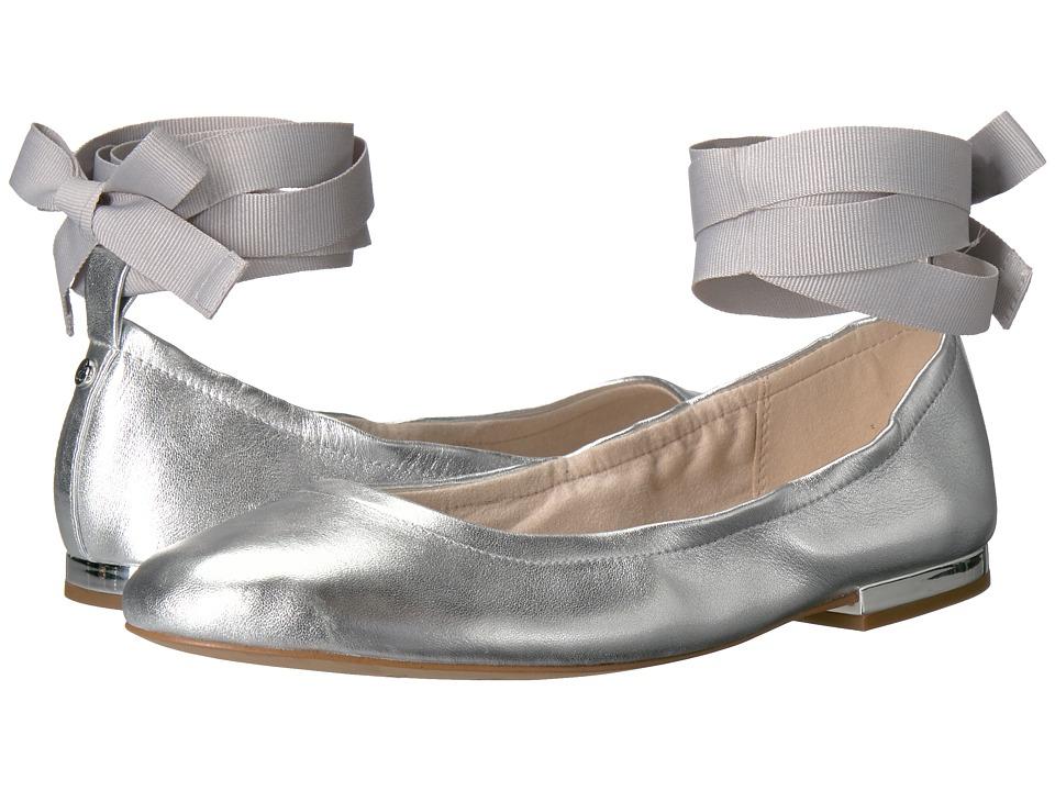 Sam Edelman - Fallon (Soft Silver Metallic Sheep Leather) Women's Dress Sandals
