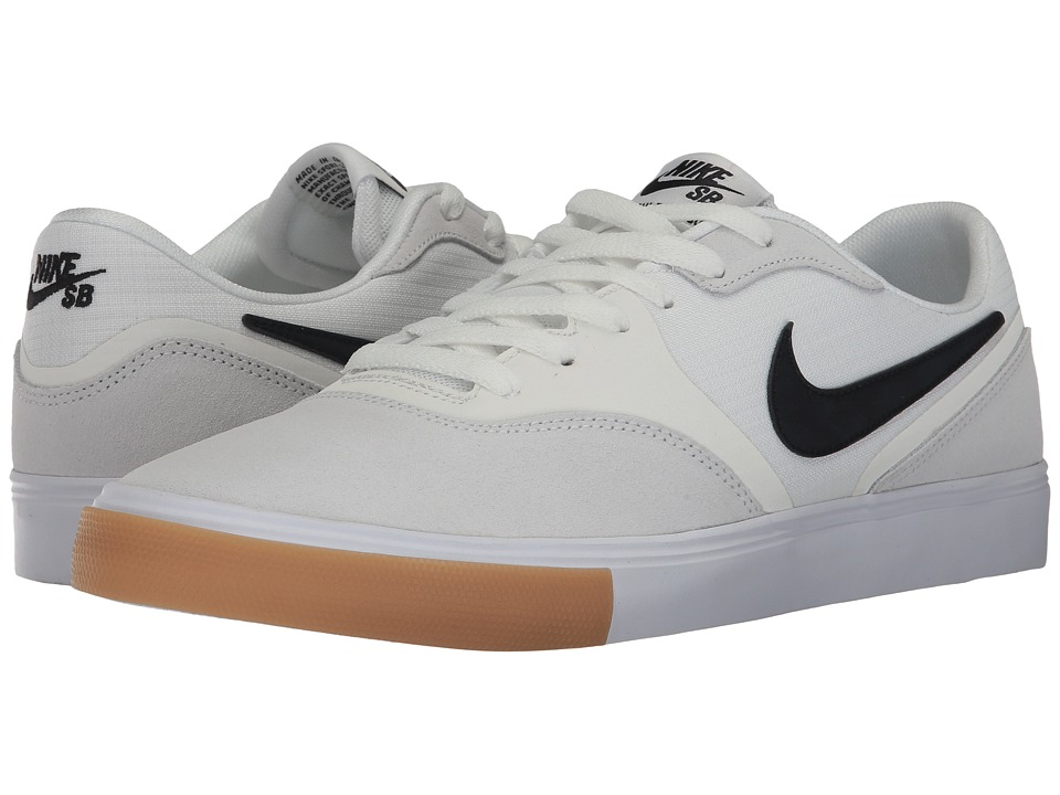 Nike SB - Paul Rodriguez 9 VR (Summit White/Black/Black) Men's Skate Shoes