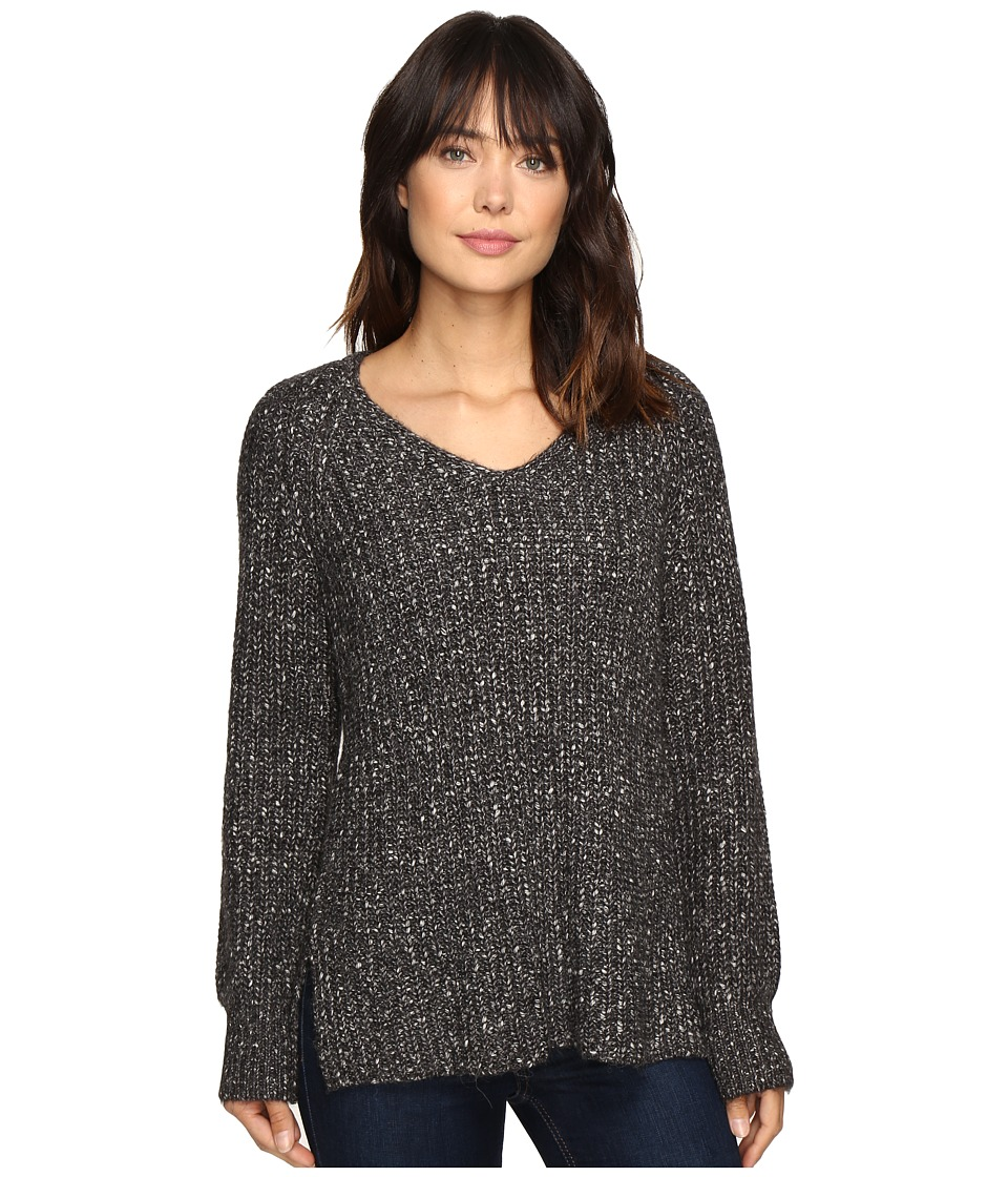 Sanctuary - Sequoia V-Neck Sweater (Marled Mica Grey) Women's Sweater