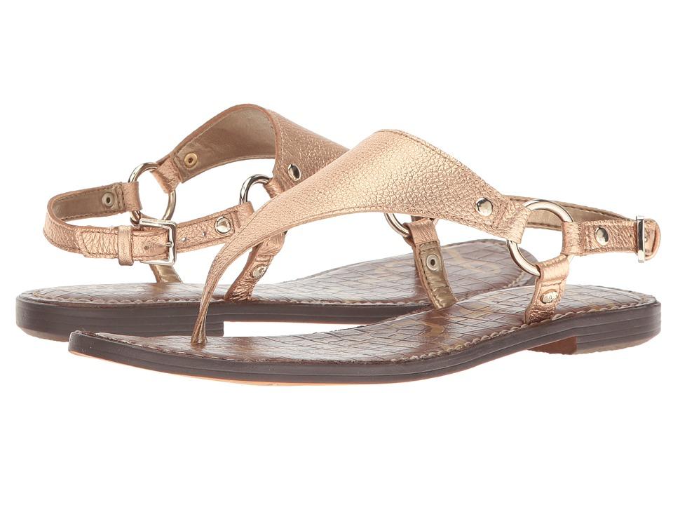 Sam Edelman - Greta (Platinum Pink Tumbled Opal Metallic Leather) Women's Sandals
