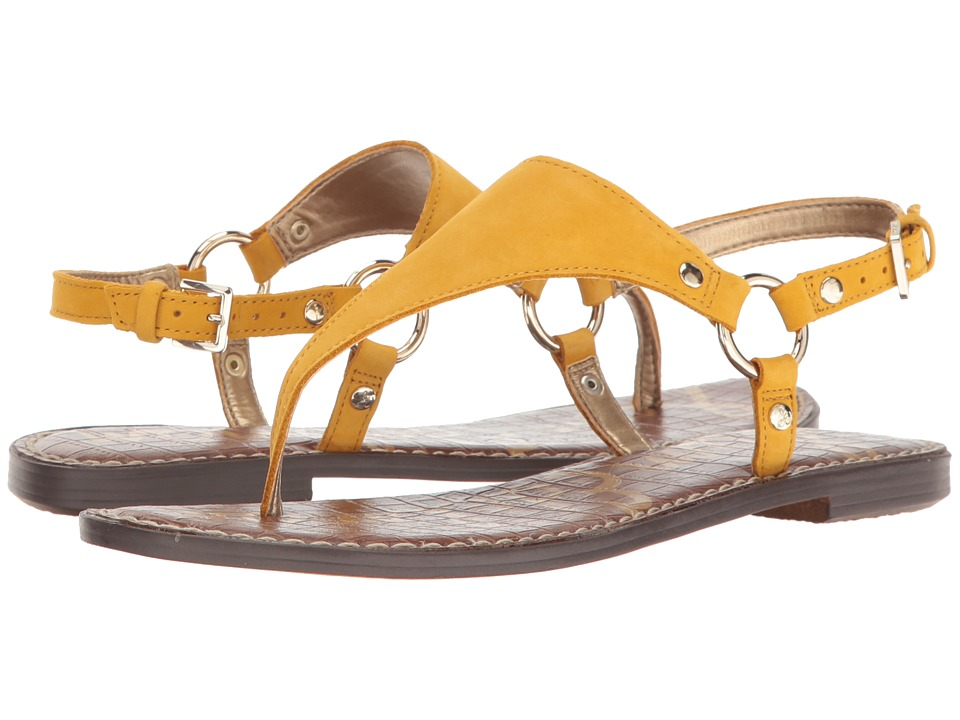 Sam Edelman Greta (Sunset Yellow Jabuck Nubuck Leather) Women