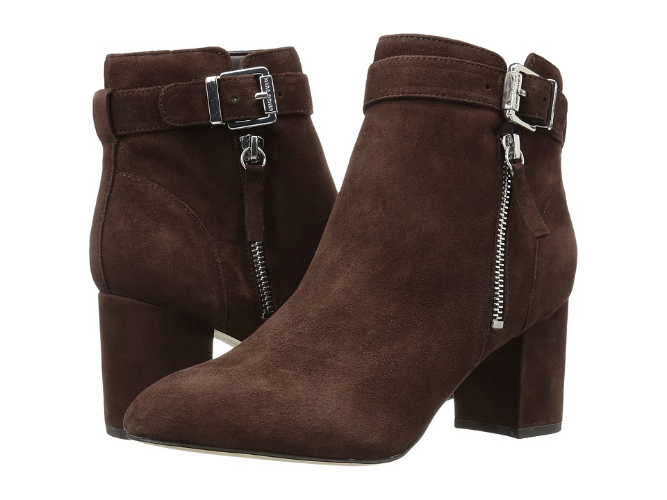 Marc Fisher - Wynie (Brown Suede) Women's Shoes