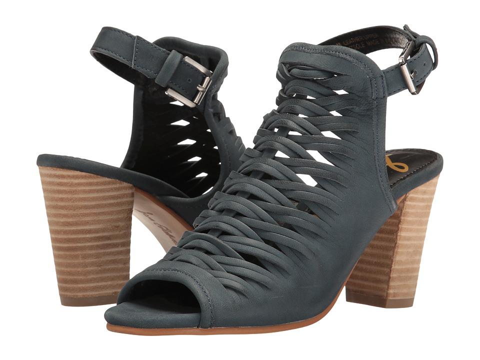 Sam Edelman - Holly (Navy Leather) Women's Dress Flat Shoes