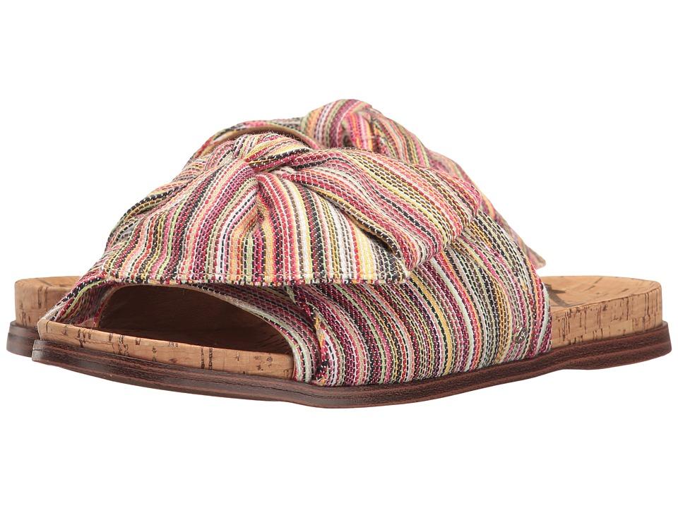 Sam Edelman - Henna (Bright Multi Mini Woven Stripe Fabric) Women's 1-2 inch heel Shoes