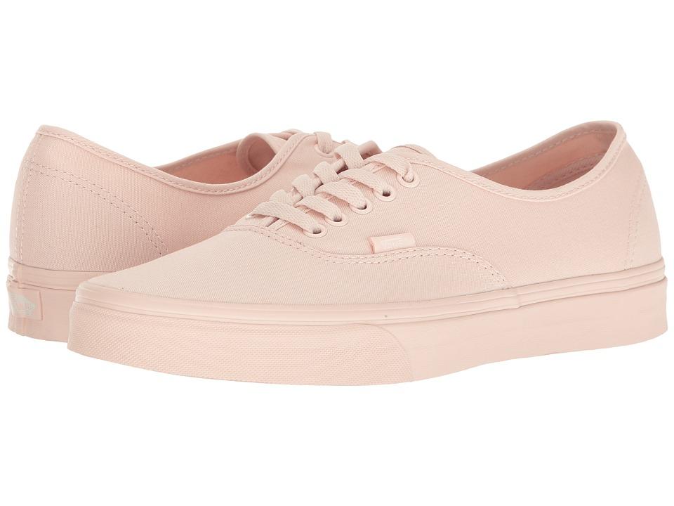 Vans Mono Canvas Authentic Peach Shoes