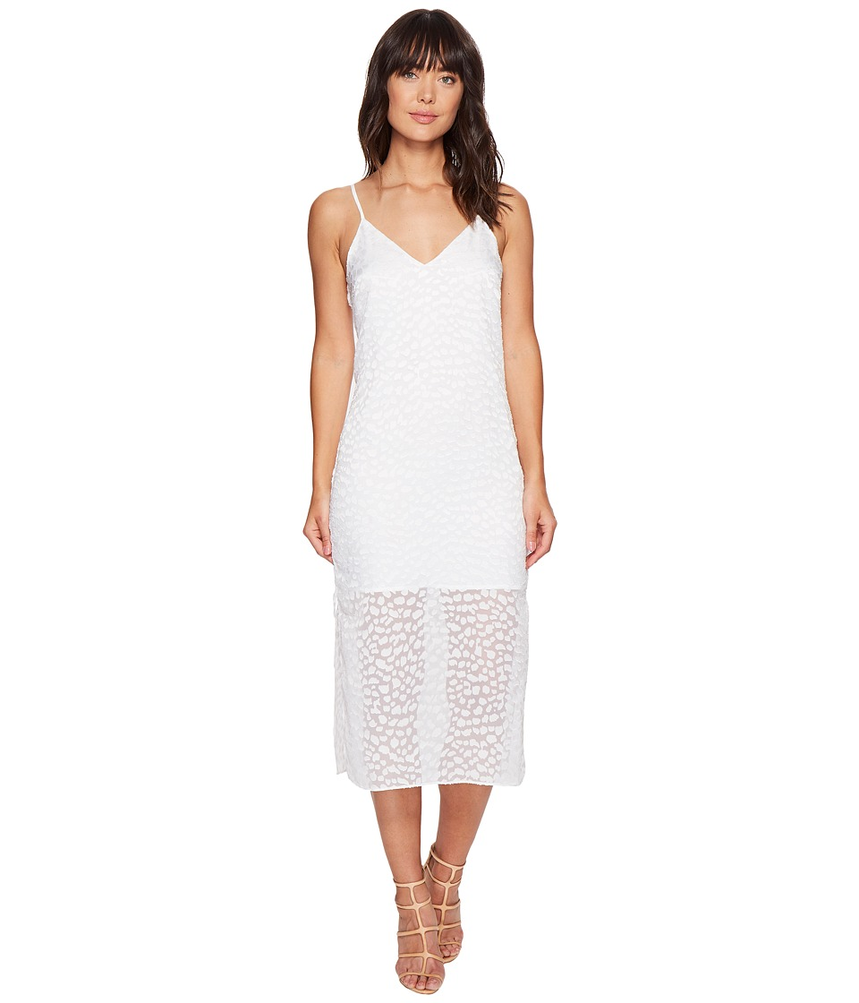 KEEPSAKE THE LABEL - Lovers Midi Dress (Ivory) Women's Dress