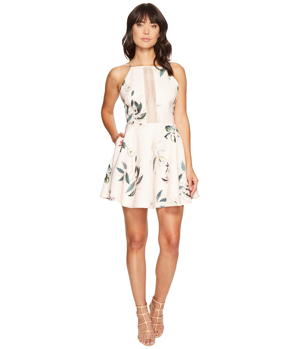 KEEPSAKE THE LABEL - Do It Right Mini Dress (Light Garden Floral) Women's Dress