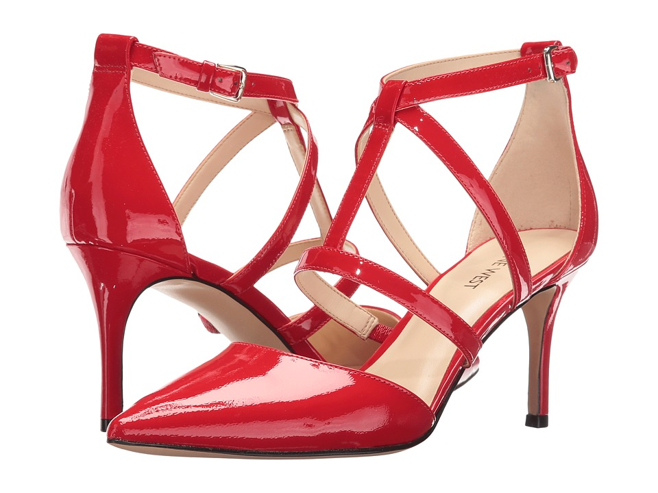 Nine West - Maize (Red Patent) Women's Shoes