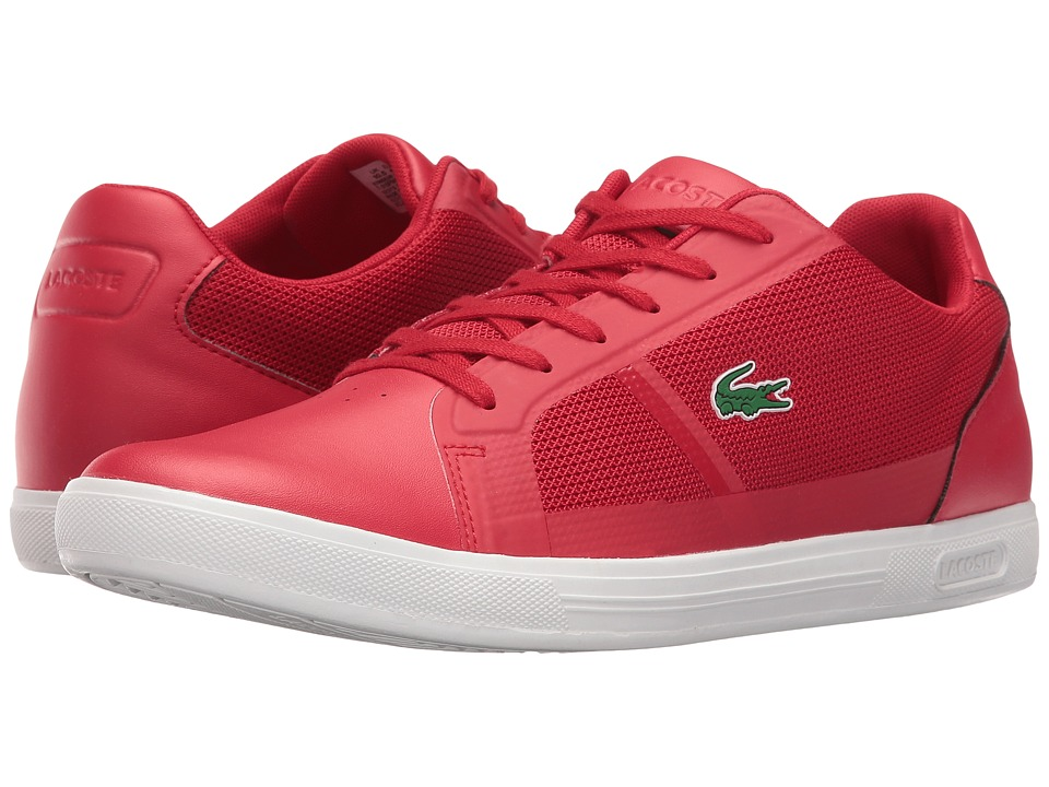 Lacoste - Strideur 216 1 (Red) Men's Shoes
