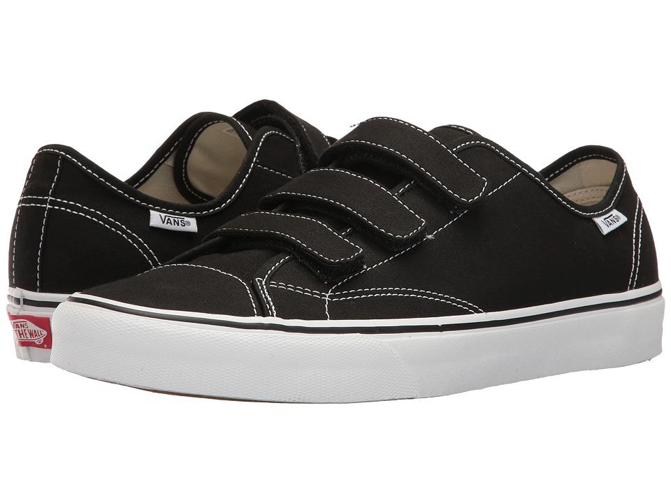 Vans - Style 23 V ((Canvas) Black) Skate Shoes