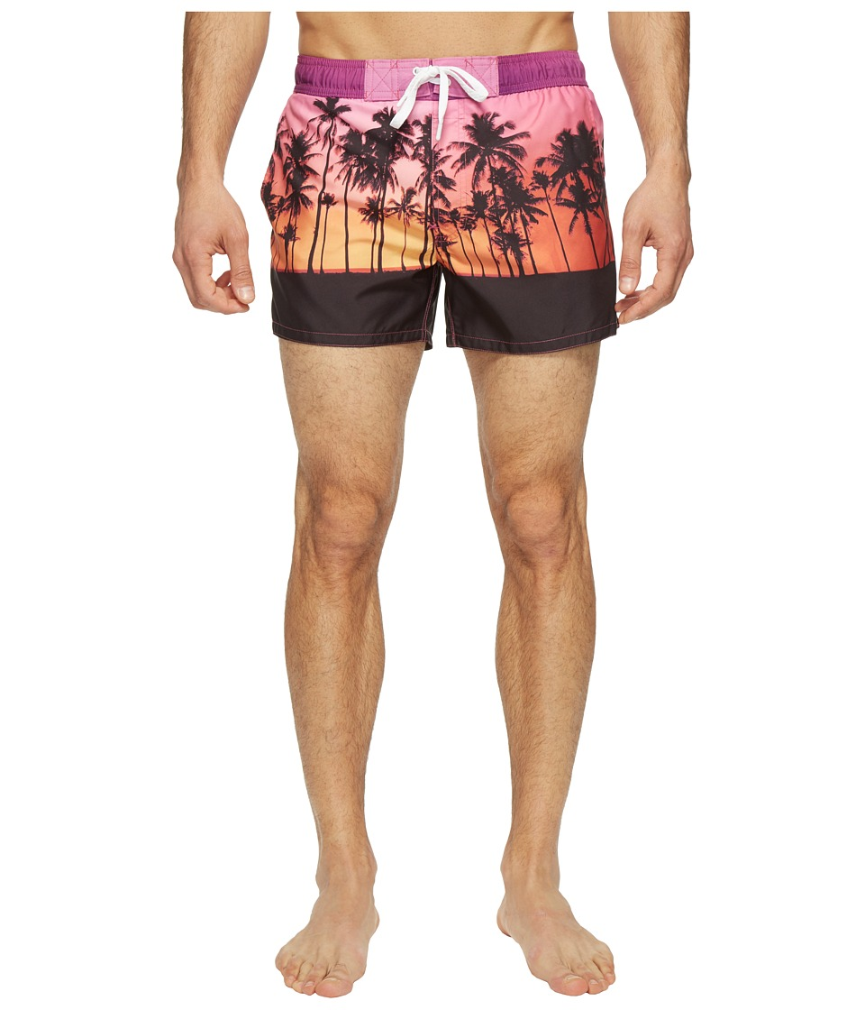 2(X)IST - Fashion Ibiza - Sunset (Sunset Palm Trees) Men's Swimwear