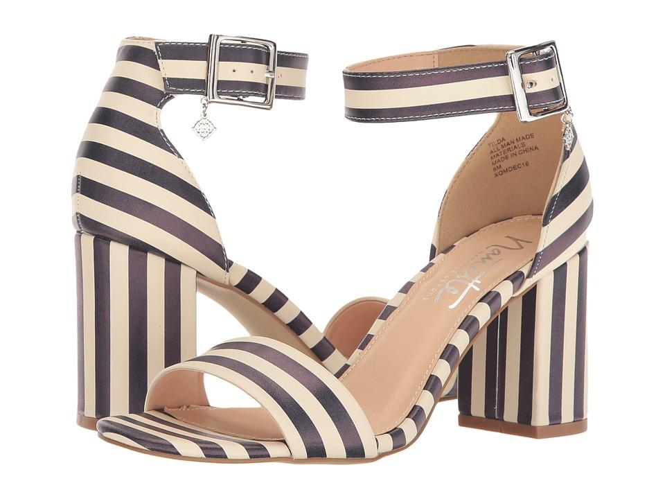 Nanette nanette lepore - Tilda (Blue/Off-White Stripe) Women's Shoes