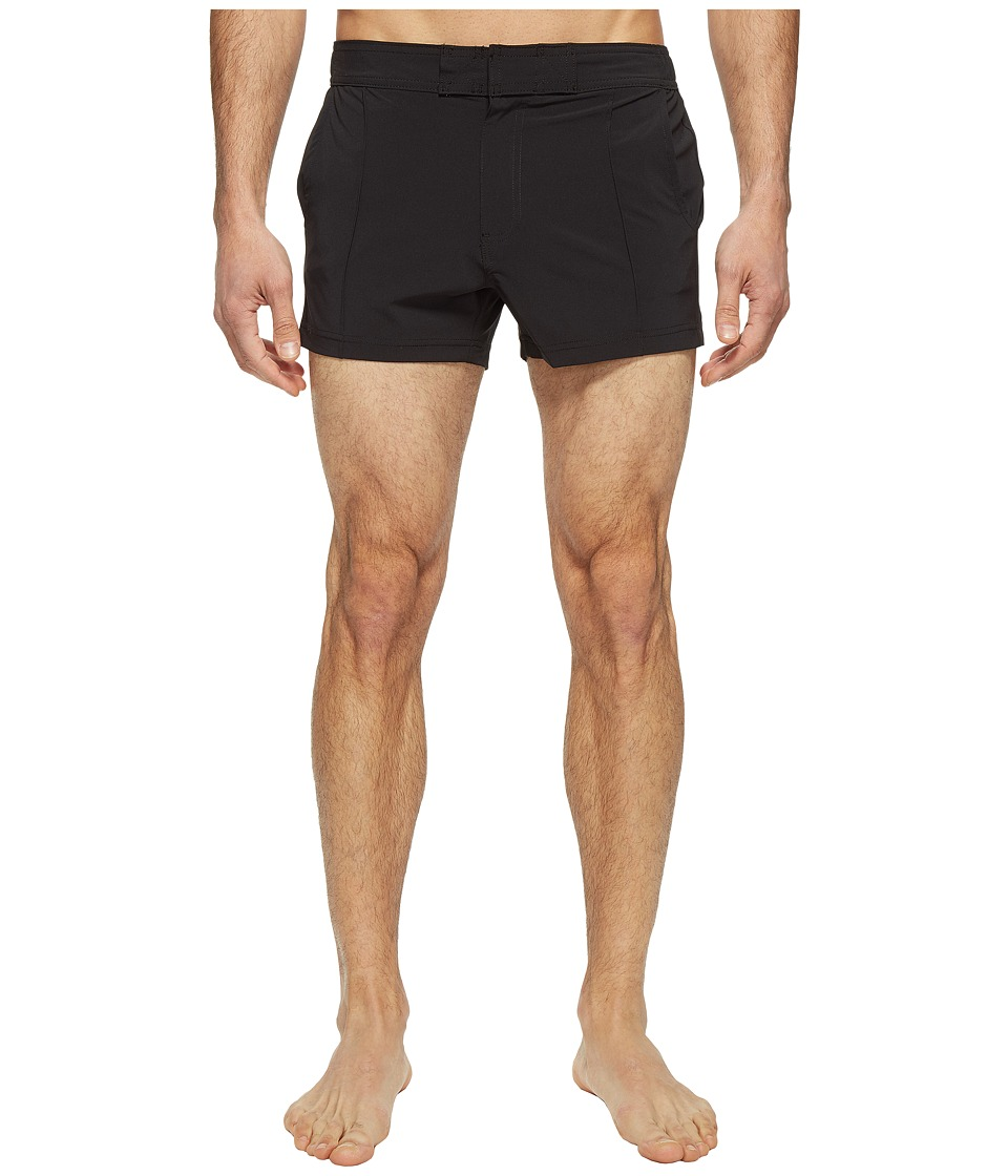 2(X)IST - Yacht Shorts (Black) Men's Swimwear