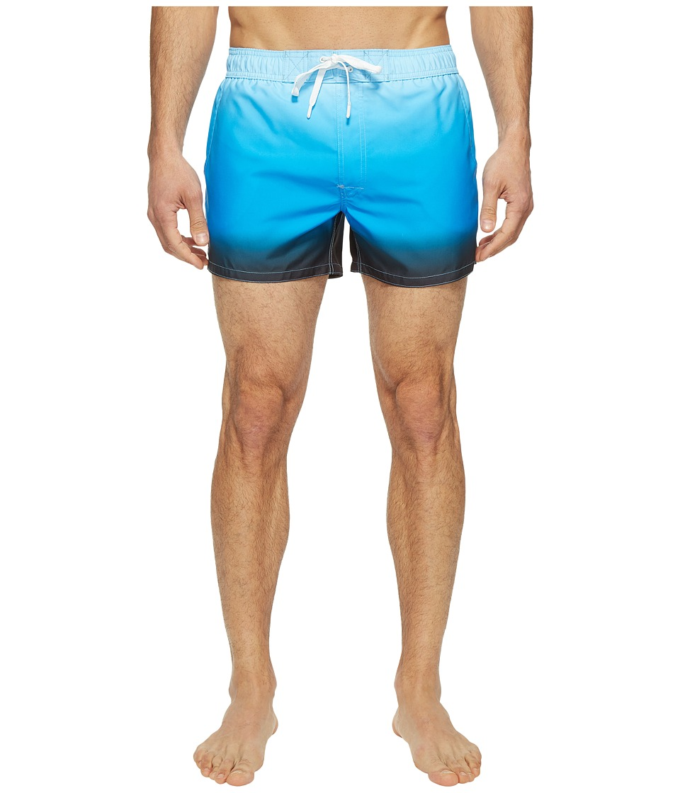 2(X)IST - Fashion Ibiza - Ombre (Ombre Light Blue/Black) Men's Swimwear
