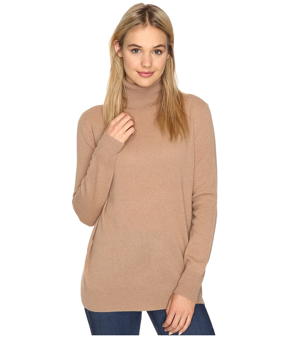 EQUIPMENT - Oscar Turtleneck (Camel) Women's Clothing