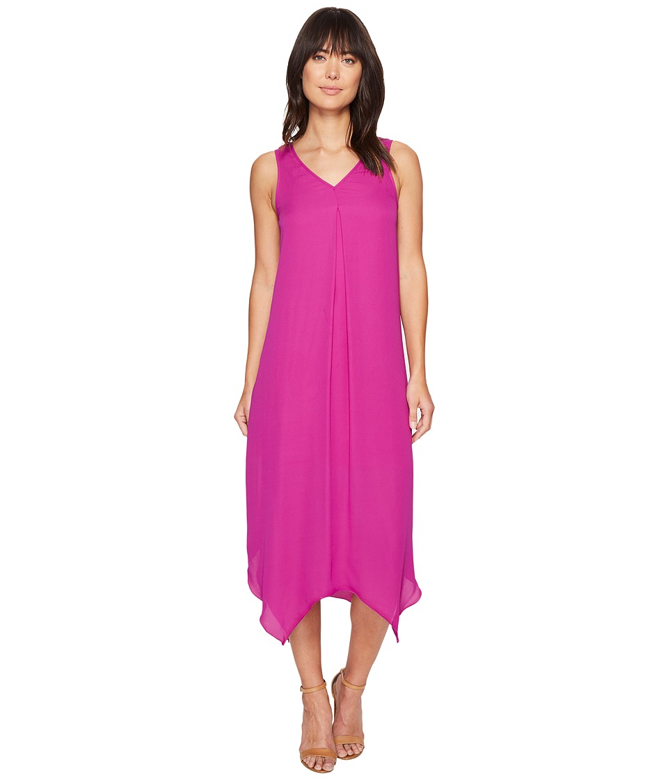 kensie Drapey Crepe Dress KS4K7684 (Bright Purple) Women