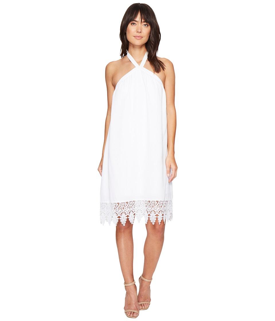 kensie - Luxury Crepe Dress KS4K7818 (White) Women's Dress