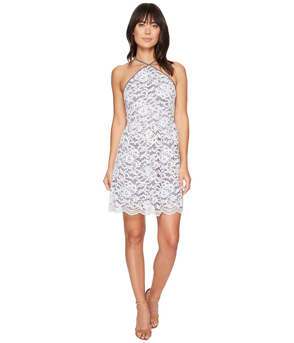 kensie - Poetic Lace Dress KS4K7973 (Grey Dusk Combo) Women's Dress