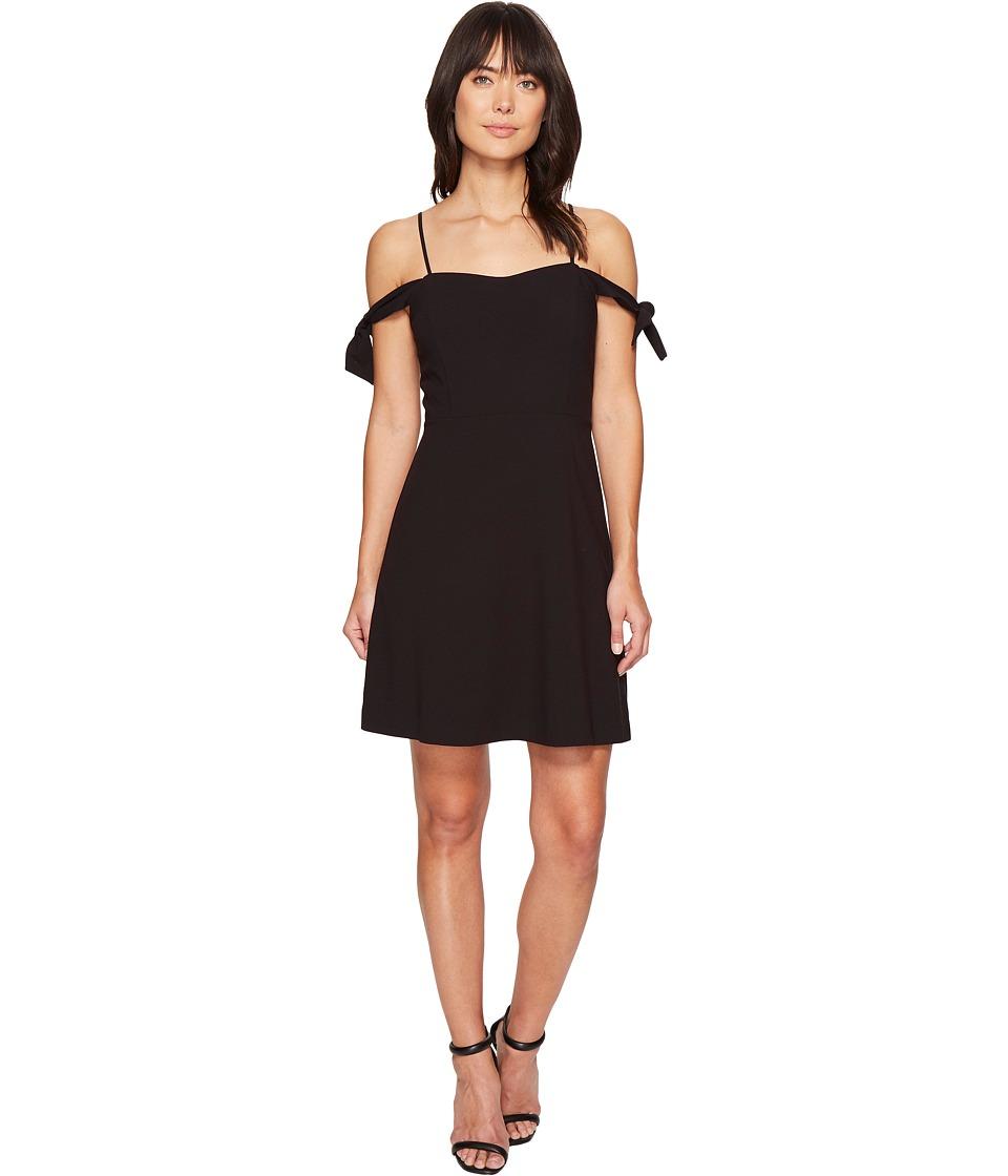 kensie Stretch Crepe Dress KS4U7025 (Black) Women