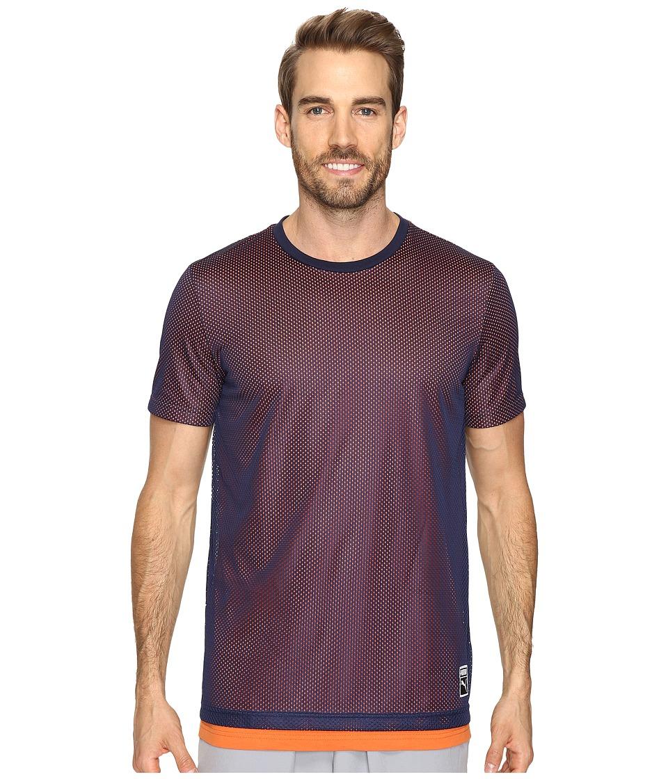 PUMA - Bball Tee (Peacoat) Men's T Shirt