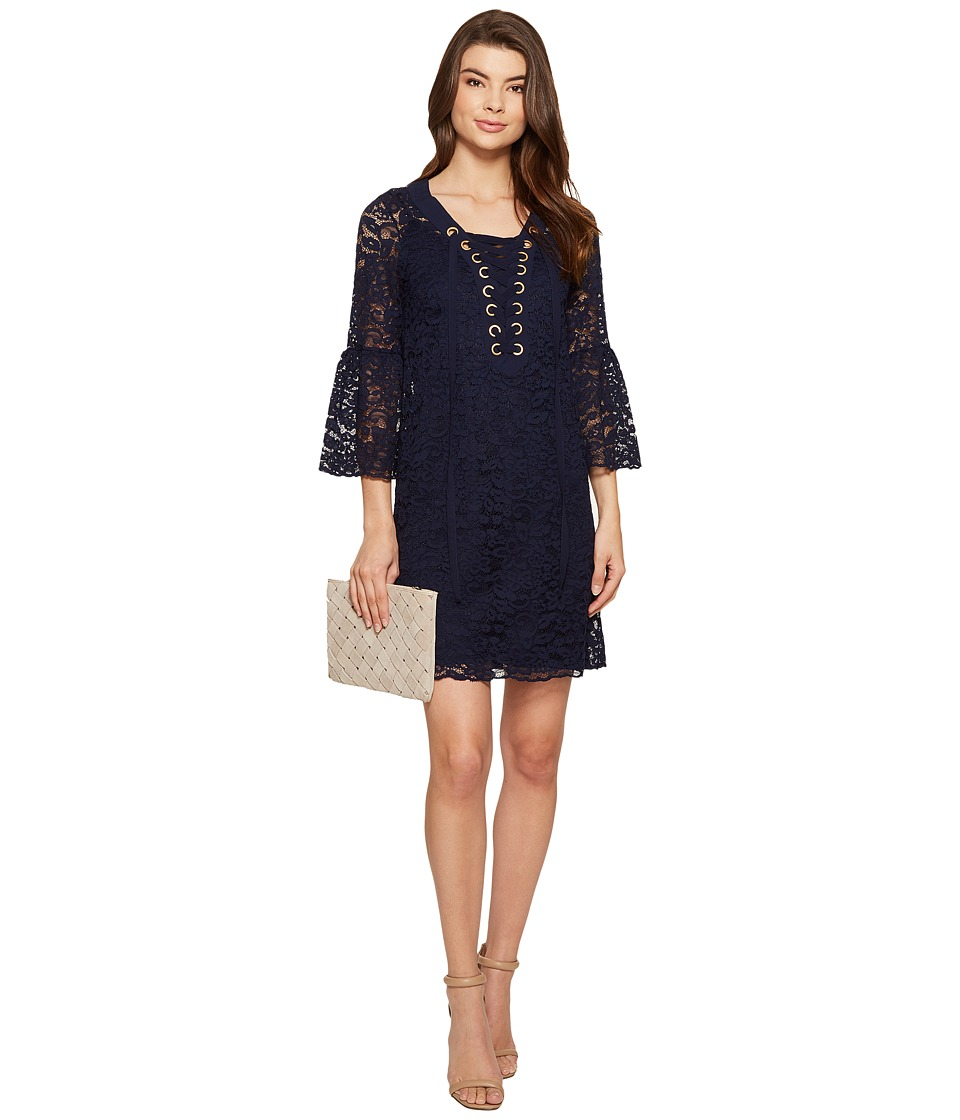 kensie - Femme Lace Dress KS5K7571 (Darkest Navy) Women's Dress