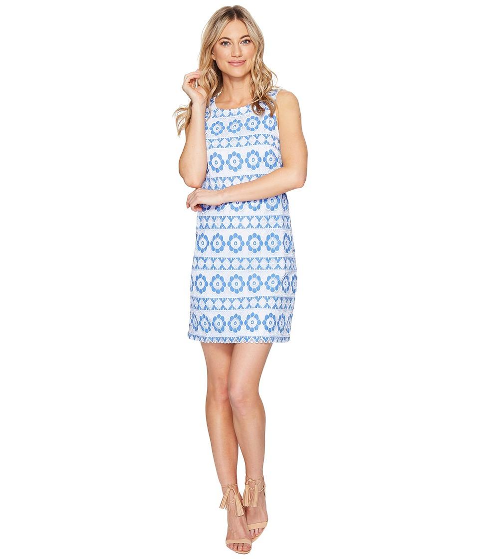 kensie - Full Bloom Lace Dress KS3K7731 (Vivid Blue Combo) Women's Dress