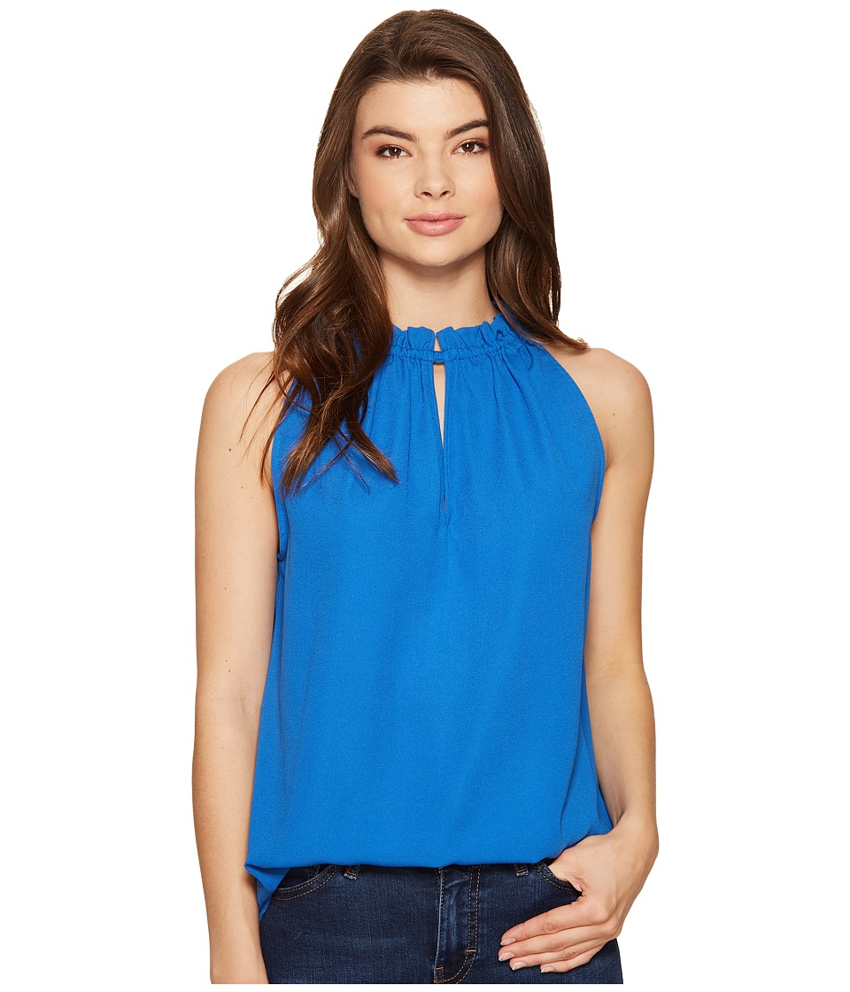 kensie - Luxury Crepe Top KS5K4721 (Vivid Blue) Women's Clothing