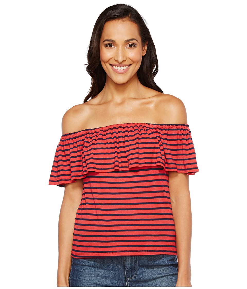 Splendid - Off Shoulder Top (Cape Red) Women's Clothing