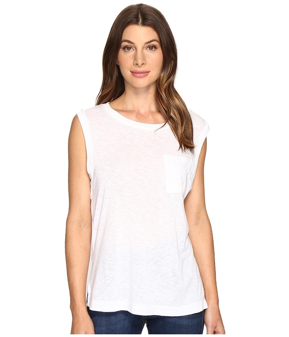 Splendid - Slub Muscle Tank (White) Women's Sleeveless