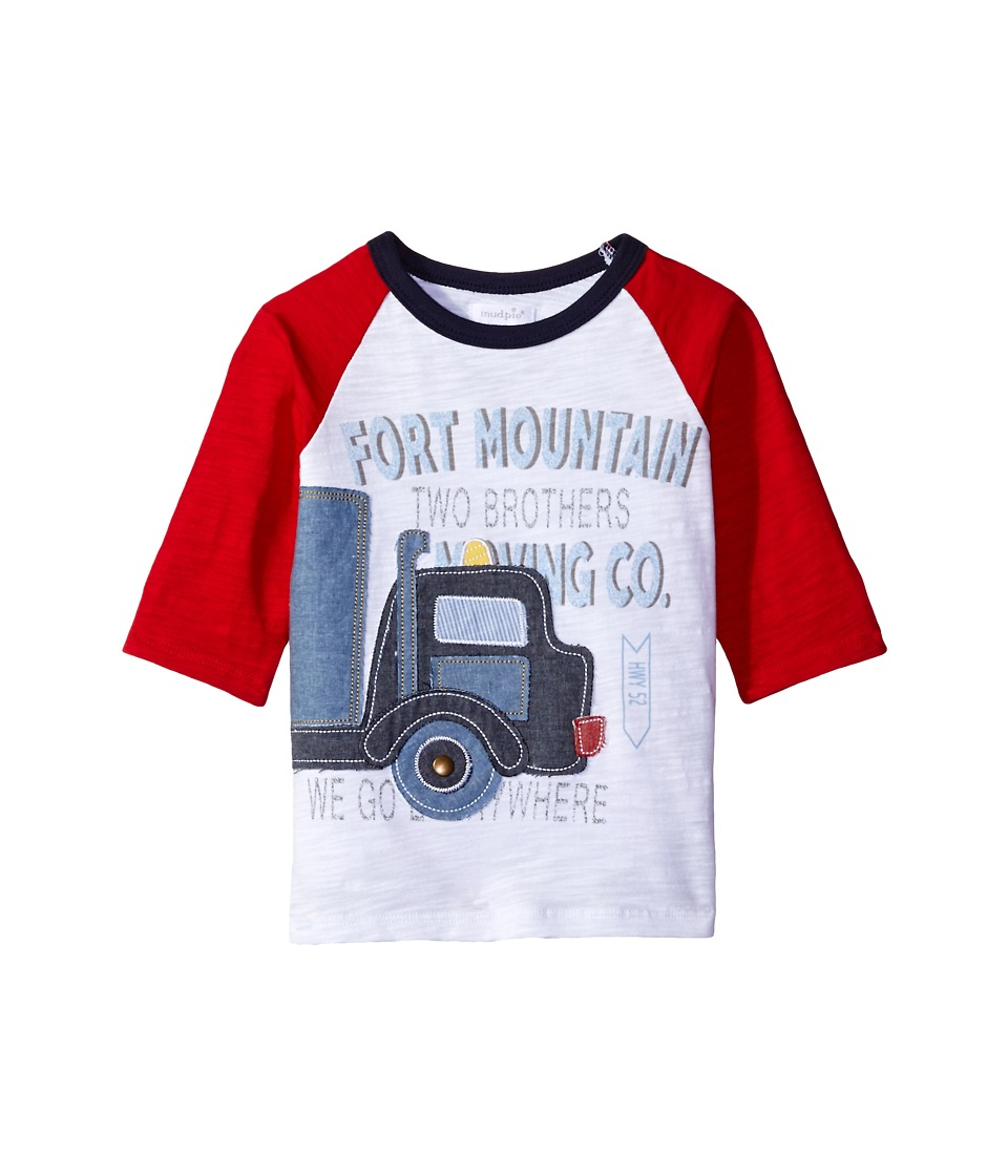 Mud Pie - Truck T-Shirt (Infant/Toddler) (Red) Boy's T Shirt