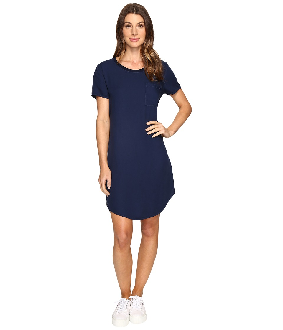 Splendid - Pocket Tee Dress (Academy Navy) Women's Dress