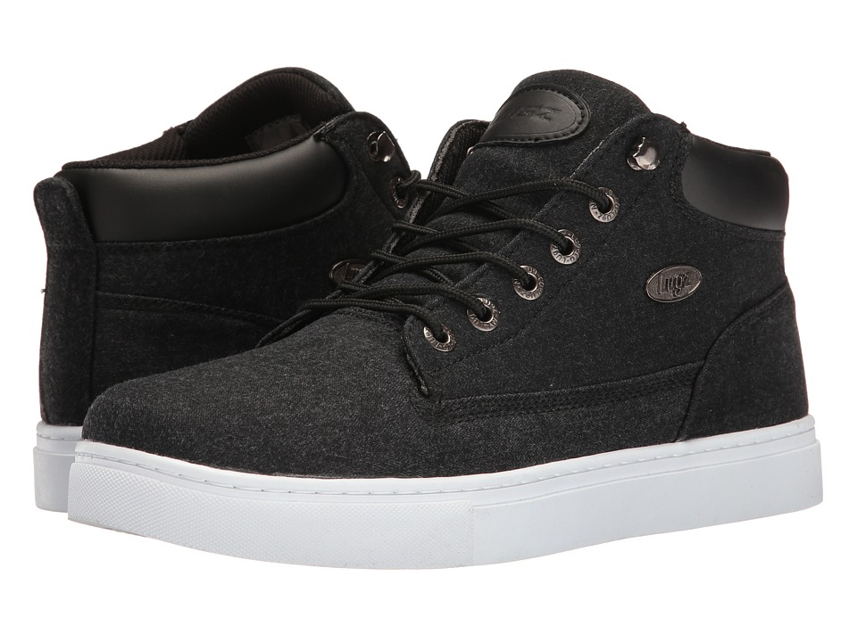 Lugz Gypsum (Black/White) Men