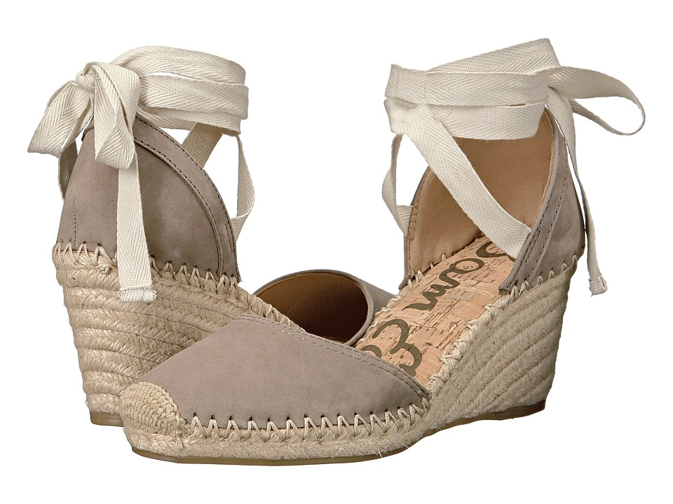 Sam Edelman - Patsy (Putty Jabuck Nubuck Leather) Women's 1-2 inch heel Shoes